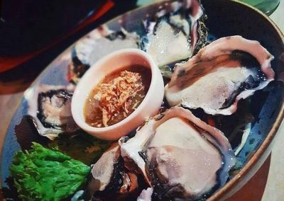 Khmer Style Oysters